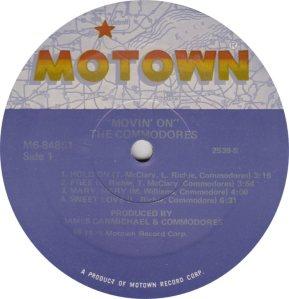 MOTOWN 848 - COMMODORES