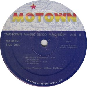 MOTOWN 857 - DISCO MACHINE