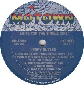 MOTOWN 878 - BUTLER JERRY