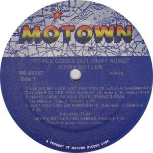 MOTOWN 892 - BUTLER JERRY