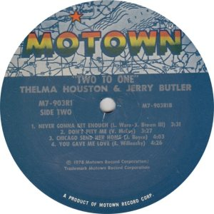 MOTOWN 903 - BUTLER & HOUSTON