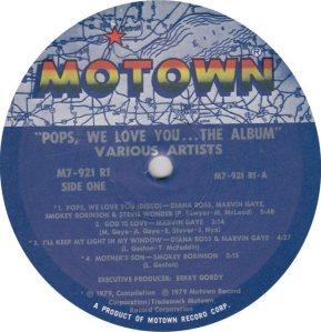 MOTOWN 921 - VARIOUS - R