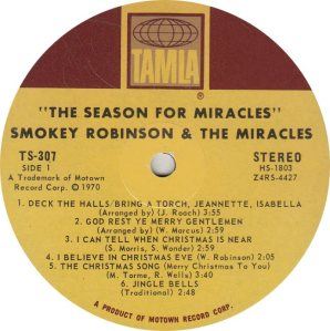 TAMLA 307 - MIRACLES - R
