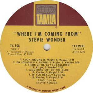 TAMLA 308 - WONDER - R