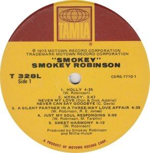 TAMLA 328 - ROBINSON - R