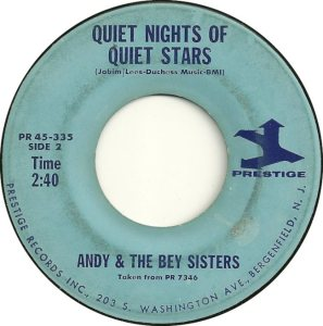 ANDY AND BEY SISTERS - 64 B