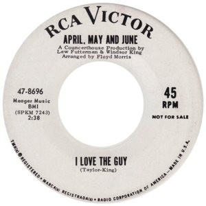 APRIL MAY AND JUNE - 65 B