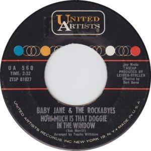 BABY JANE & ROCKABYES - 63 B