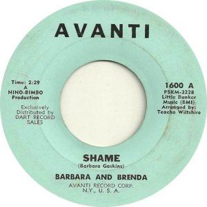 BARBARA & BRENDA - 1963 A