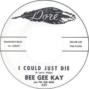 BEE GEE KAY & BON BONS - 62 A