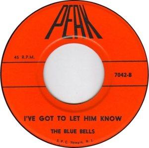 BLUE BELLES - STARLETS - 1962 C