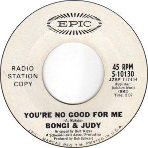 BONGI & JUDY - 1967 01 D