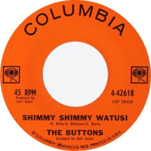 BUTTONS - 1962 COL B