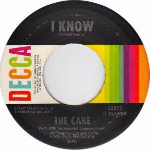 CAKE - 1967 C