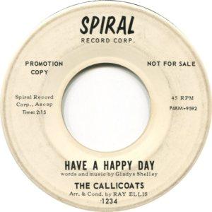 CALLICOATS - S1963 B