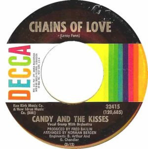 CANDY & KISSES - 68 DECCA A