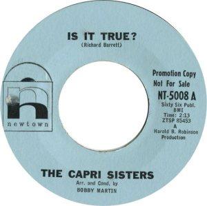 CAPRI SISTERS - NEWTON 62 A