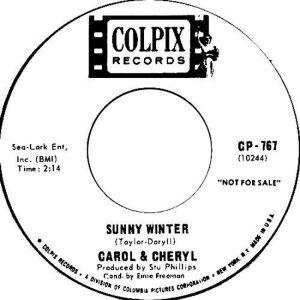 CAROL & CHERYL - 1965 B