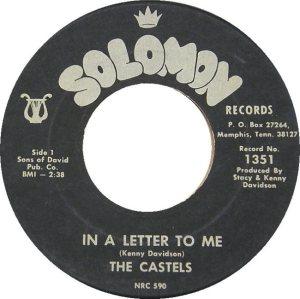 CASTELS - 1967 A