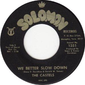 CASTELS - 1967 B