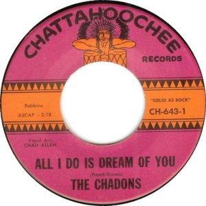 CHADONS - 1964 A