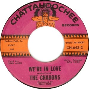 CHADONS - 1964 B