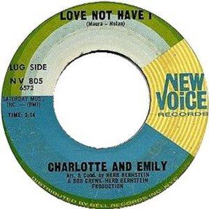 CHARLOTTE & EMILY - 65 A