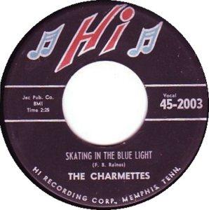 CHARMETTES - 1958 A