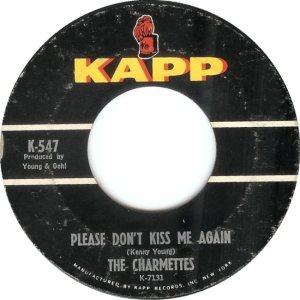 CHARMETTES - 1963 A