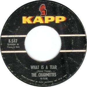 CHARMETTES - 1963 B
