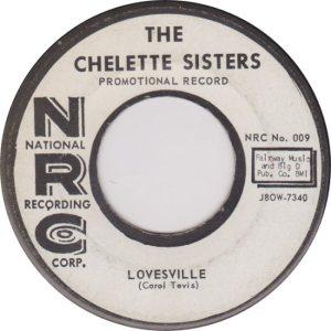 CHELETTE SISTERS - 1958 B