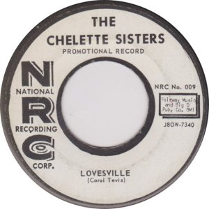 CHELETTE SISTERS - 1958 B