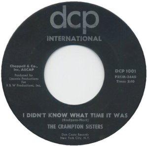 CRAMPTON SISTERS - 1963 A