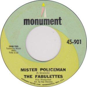 FABULETTES - 1965 A