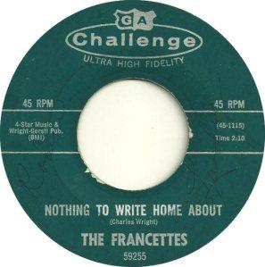 FRANCETTES - 1964 B