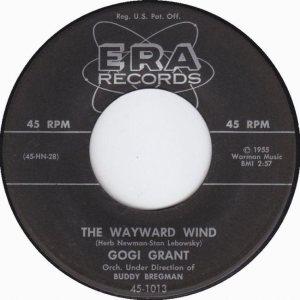 GOGI GRANT - WAYWARD WIND