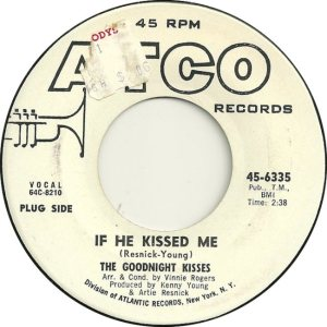 GOODNIGHT KISSES - 1965 A