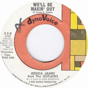 JESSICA JAMES & OUTLAWS - 66 A