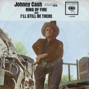 JOHNNY CASH - RING OF FIRE PS