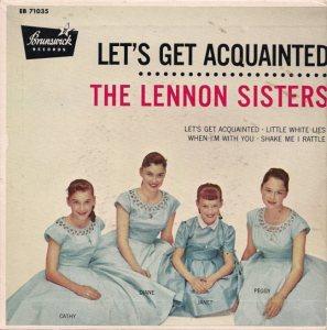 LENNON SISTERS 57 PS