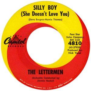LETTERMEN - SILLY BOY R