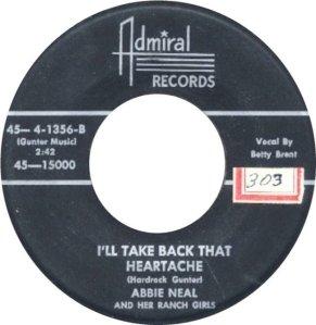 NEAL ABBIE - 56 b