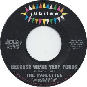 PARLETTES - 1964 A