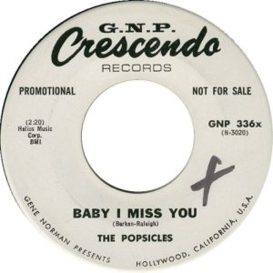 POPSICLES - 1964 B