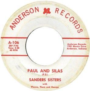 SANDERS SISTERS - 65 B