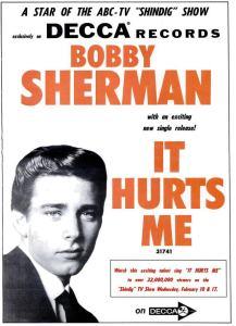 Sherman, Bobby - 02-65 - It Hurts Me