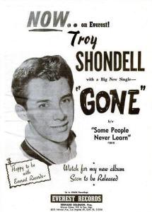 Shondell, Troy - 09-62 - Gone