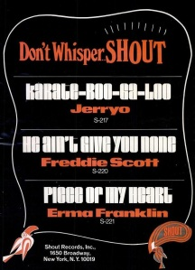 Shout Records - 10-67 - Don't Whisper - Shout!