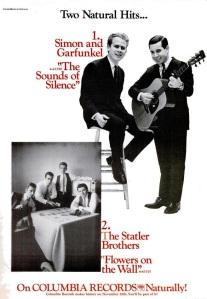 Simon & Garfunkle - 11-65 - Sounds of Silence