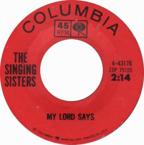 SINGING SISTERS 64 B